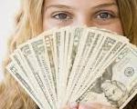 אישה עם כסף - הלוואה אזורית – קרן גליל מערבי